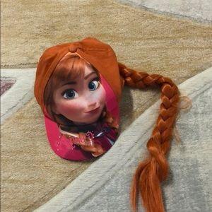 Disney Frozen Anna Girls Baseball Cap